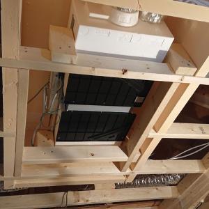 家が出来るまでの振り返り⑥第一種換気システムが入ってました!