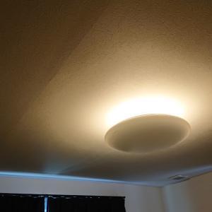 大共ホームの建築後の対応②天井の影&無垢床の染み