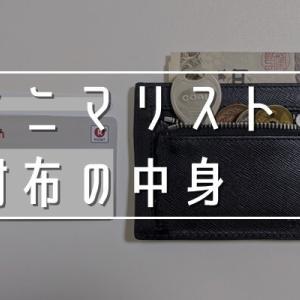 アラサーミニマリスト男の財布の中身を全公開【カード2枚】