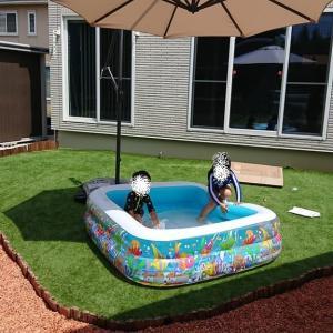 DIYで庭の人工芝張りに挑戦!!かかった費用編