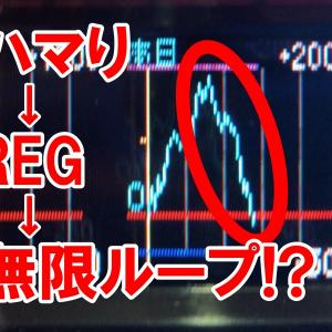 【クランキーセレブレーション】推定設定5でBIG間1000Gハマり連発!?崖のような急降下グラフをご覧くださいw