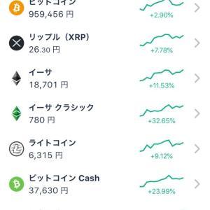 仮想通貨が!!!