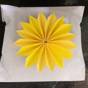 折り紙の菊の花の折り方