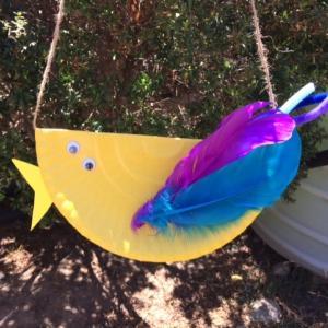 紙皿工作で小鳥を作ろう!小学生でも簡単手作り
