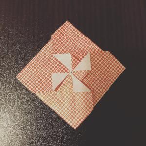 ポチ袋の作り方|簡単でおしゃれな風車の折り方