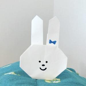 高齢者や幼稚園児にも簡単な折り紙!かわいいうさぎの折り方