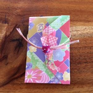 ポチ袋の作り方3種 折り紙で簡単な折り方があるんです!
