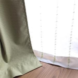 好きな布を遮光カーテンに