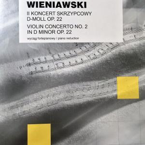 ヴィエニアフスキ ヴァイオリン コンチェルト 第2番 ポーランド出版