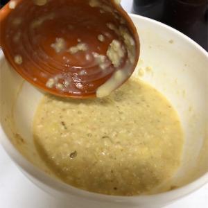 【レシピ】お料理紹介〜超簡単!砂糖なしパンケーキ バナナオーツパンケーキの巻〜
