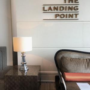 古のフェリーターミナル、ランディングポイントでアフタヌーンティー@フラトン ベイ ホテル