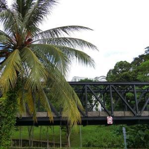 シンガポールを走っていた旧マレー鉄道跡