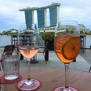 シンガポールでカチョエペペ@Cafe Fernet