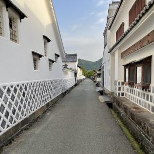 初夏の山陰旅行〜萩城下町を歩く