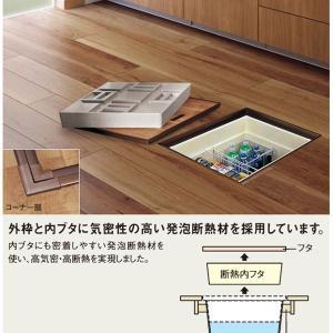 キッチンのアイディア集③(床下収納に一升瓶を入れたい)