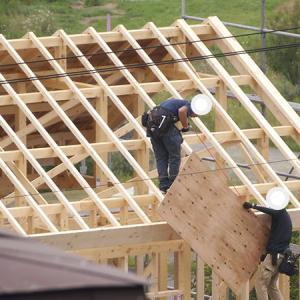 【着工29〜31日】アスファルトシングルの屋根作り