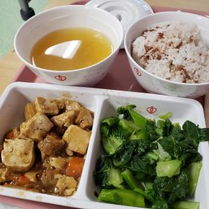 香港の公立病院の入院食