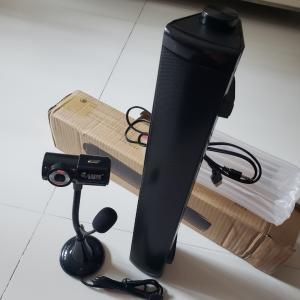 <ZOOM授業>中国からスピーカー&Webカメラ無事到着