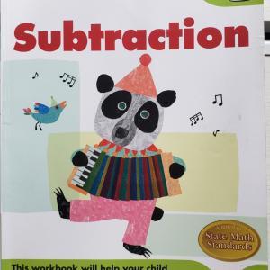 <教材> KUMON Subtraction Grade1