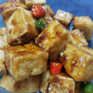 韓国風作り置きおかず 豆腐のミッバンチャン
