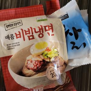 韓国冷麺の茹で方とカオルンデイリー牛乳