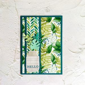 清々しい心地いい空気を感じられるようなカード♡
