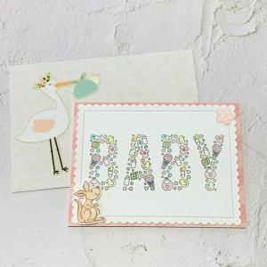 生まれる前から楽しみにしていた赤ちゃんとママへのカード♡