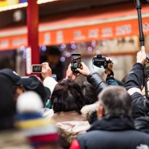 外国人観光客減少の影響
