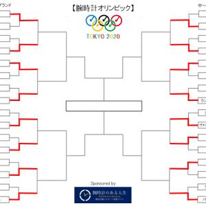 腕時計オリンピック第二回戦 全8試合 分析と予想【ベスト8に残るのは?】