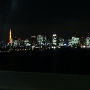 湾岸からの夜景