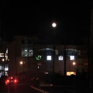 館山の中秋の月
