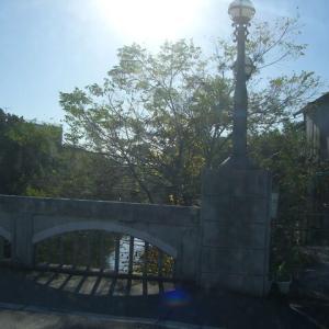 潮止橋のあたり