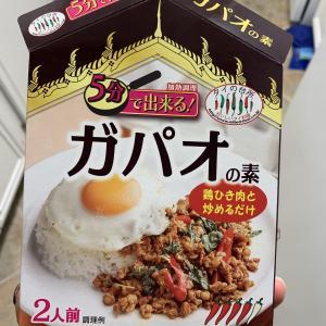 Mitsuwaで買ったガパオの素