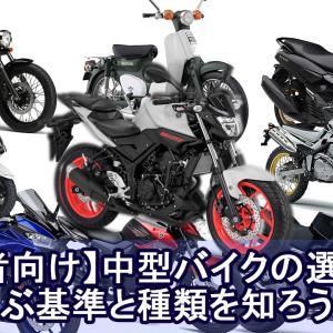 【初心者向け】中型バイクの選び方!選ぶ基準と種類を知ろう!