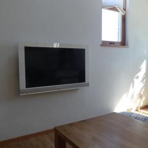 狭小住宅のテレビ事情
