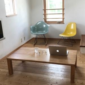 [狭小住宅の家具]ポイントは低いこと、臨機応変に使えること