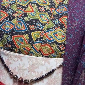 アンティークの羽織コーデ