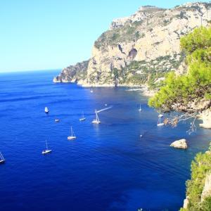 イタリアひとり旅⑱【前半:南イタリア編】「帰れソレントへ」のソレントから船で麗しの海を渡ってカプリ島に行く