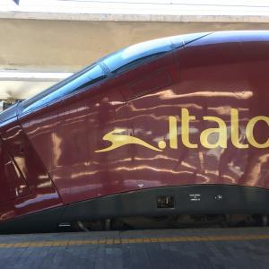 イタリアひとり旅㉔【後半:トスカーナ編】フェラーリ特急「イタロ」のプリマクラスに乗ってフィレンツェへ