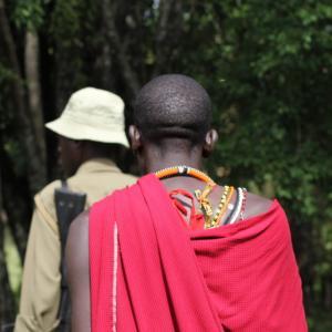 ケニアひとり旅⑰【マサイ族と一緒にネイチャーウォーク!アフリカの大地を踏みしめる】