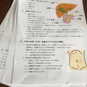 胆嚢摘出手術スケジュール