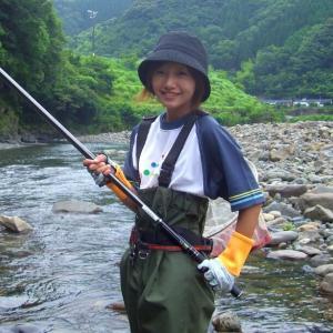 なんと美形アユが85匹釣れた!!滋賀県 安雲川