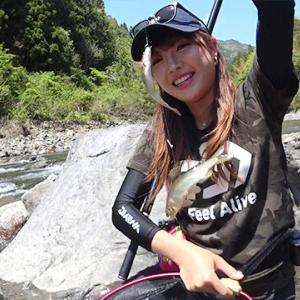 美女鮎を求めて、南紀・古座川へ 和歌山