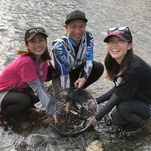 今年は20センチ級の鮎が狙える!滋賀県 安曇川