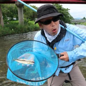 はっぴぃ魚ッチ じいちゃんとの漁は特別な時間 仁淀川でアユしゃくり漁 仁淀川