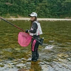 なんとアユが100匹も釣れる!? 神通川