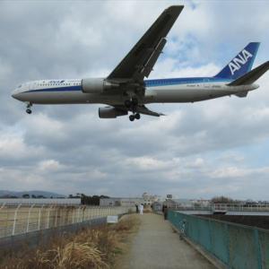 兵庫県 猪名川・藻川自転車道と伊丹空港