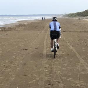 石川県 千里浜なぎさドライブウェイと富山湾岸サイクリングコース
