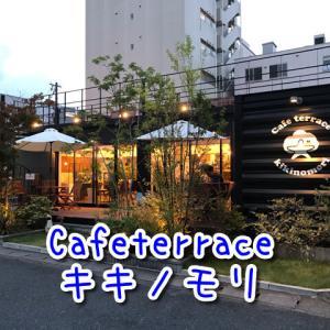 【カフェテラスキキノモリ】奈良初?!オシャレなコンテナカフェ!開放的なテラス席ペット可!