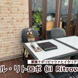 【イルリトロボ(il Ritrovo)】和歌山テラス席ペットOK!薪窯ナポリピッツァとイタリアンの人気店!